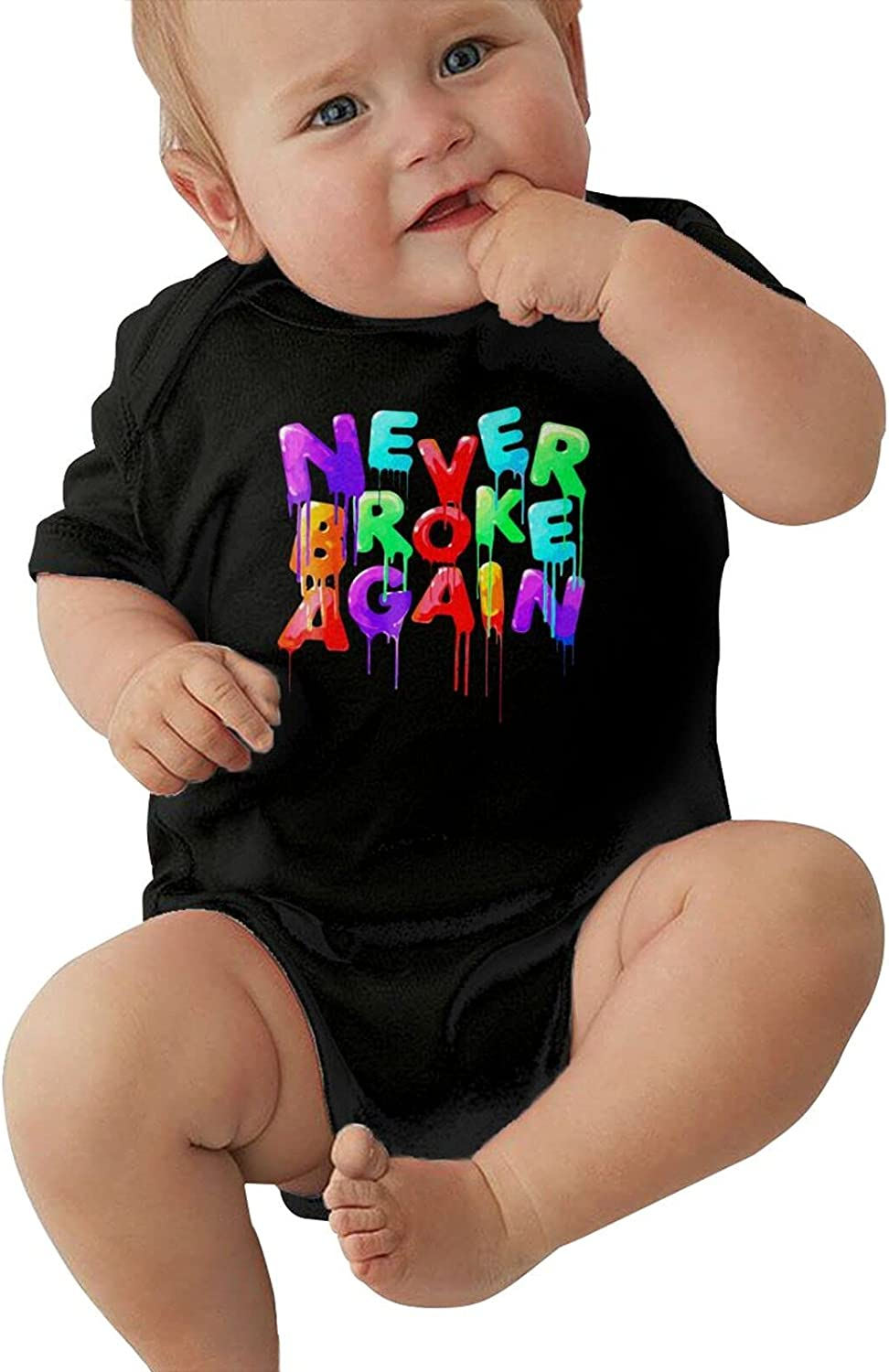 Youngboy Never Broke Again Baby Crawlin Max 79% OFF It is very popular Sleeve Short Soft Cotton