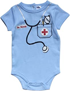 FANCYBABY Doctor Baby Newborn Boy Girl Costume Top Shirt Onesie Clothes Outfit