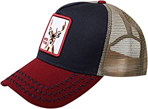 Animal Buck-Fever Hat Farm Snapback-Trucker Baseball Cap