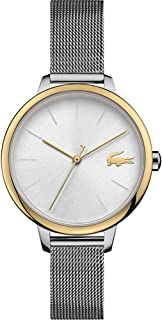 Lacoste Women's White Dial Stainless Steel Watch - 2001127