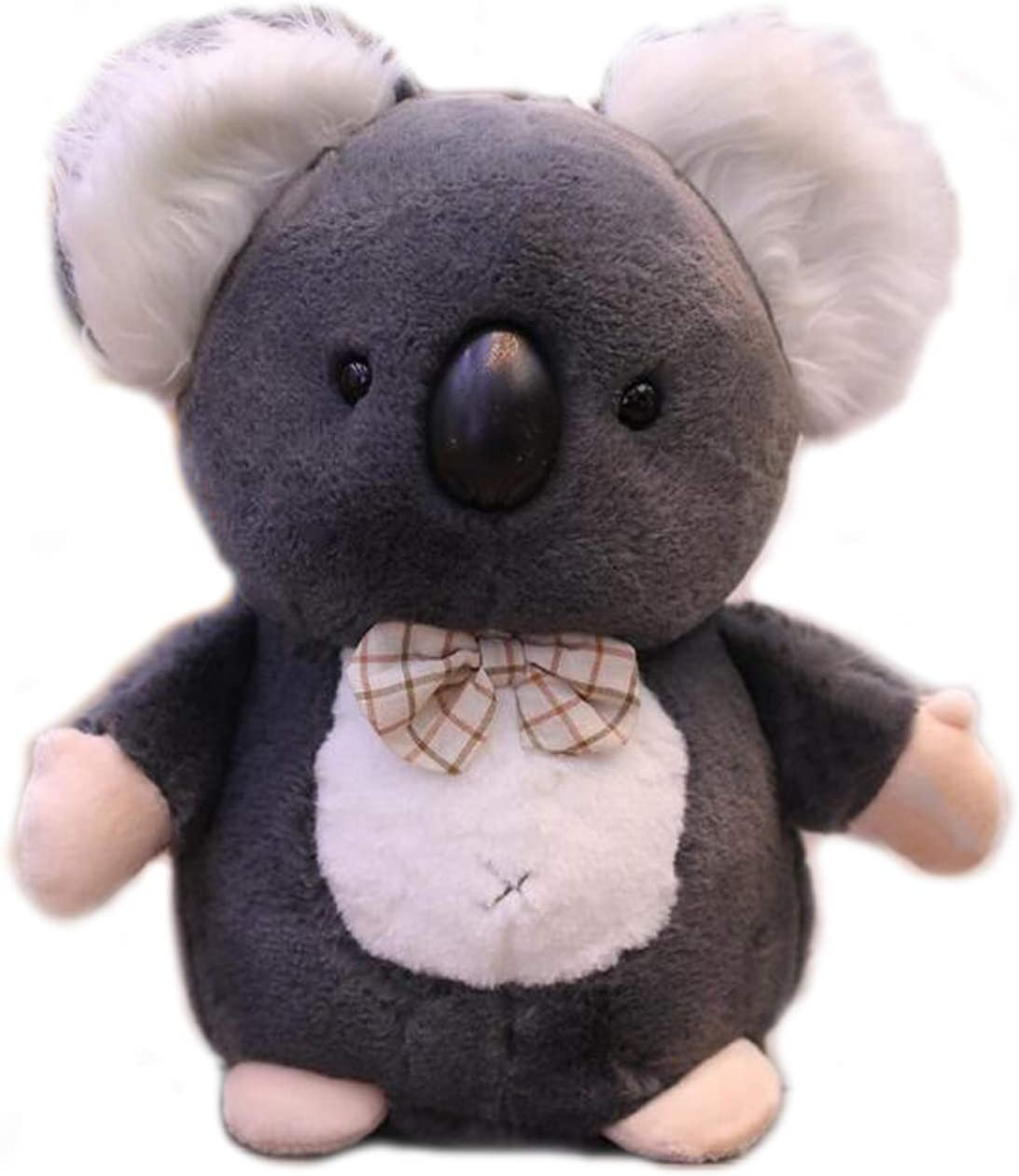 Plush Koala Bear Stuffed Animals Toys Dolls Gifts with Knot Bow Grey 8 Inches