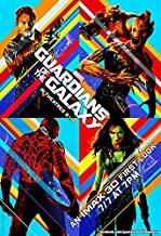"""GUARDIANS OF THE GALAXY - 13""""x19"""" Original Promo Movie Poster 2014 MINT Imax First Look"""