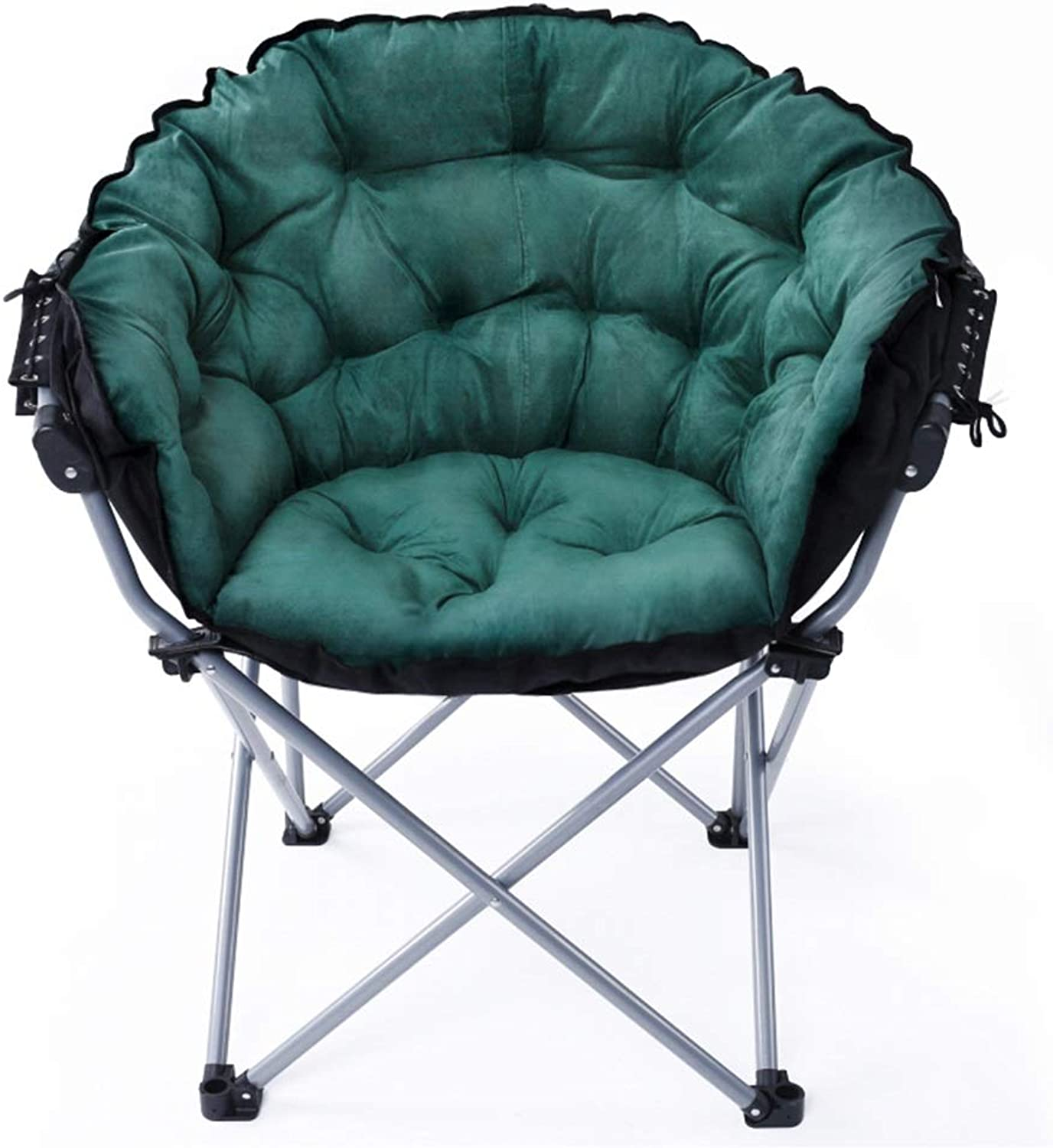 Axdwfd Recliners Lounge Chair, Lazy Couch Single Bedroom Small Sofa Balcony Folding Modern Minimalist Dormitory Computer Sofa Chair 58  46  102cm (color   Green)