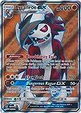 Pokemon Sun & Moon Guardians Rising Ultra Rare Holo Full Art Lycanroc-GX #138