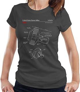 NASA Joint Airlock Quest Blueprint Women's T-Shirt