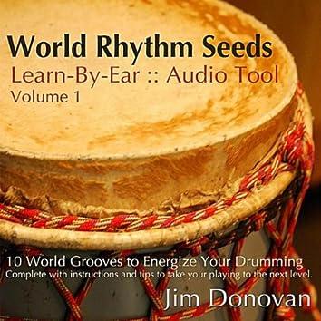 World Rhythm Seeds : Learn By Ear Audio Tool