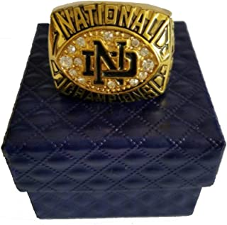 1988 Notre Dame National Collegiate Athletic Association University of Notre Dame Championship Ring Size10 11 (11)