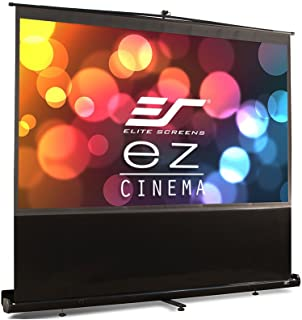 Elite Screens ezCinema Series, 120-INCH 16:9, Manual Pull Up, Movie Home Theater 8K / 4K Ultra HD 3D Ready, 2-YEAR WARRANTY, F120NWH