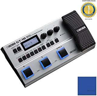 BOSS GT-1B Bass Effects Processor with Microfiber and 1 Year Everything Music Extended Warranty