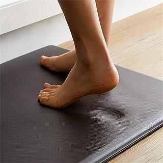Shozafia Anti Fatigue Memory Foam Kitchen Mats for Floor, Standing Desk Mat, Cushion Floor Mat, Black (71x20x0.7 inches)