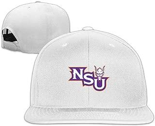 NSU Demons Sport Snapback Flat Baseball Fit Cap Ash