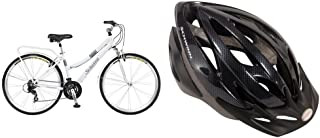 Schwinn Discover Women's Hybrid Bike (700C Wheels), White, 28