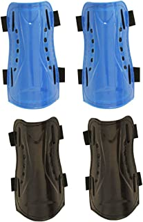 CDOFFICE 2 Pair Youth Child Soccer Shin Guards, Kids Soccer Shin Pads Board Leg Protective Gear for 5-10 Years Old Boys Girls Children Teenagers