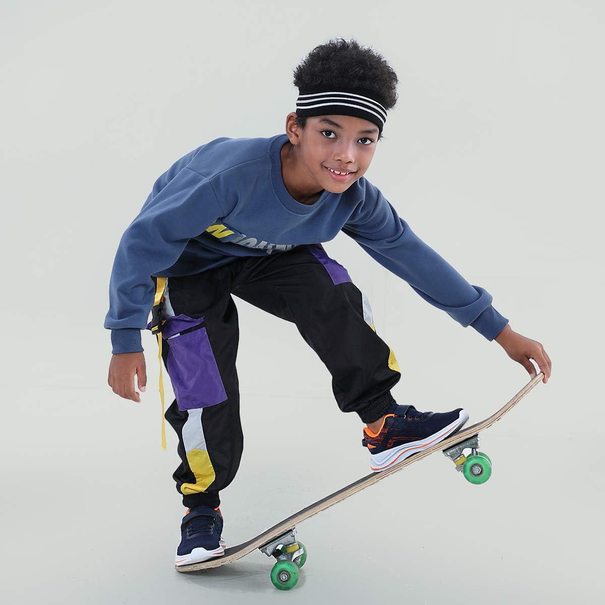 Little Kid//Big Kid Hawkwell Kids Running Shoes Lightweight Breathable Sneakers