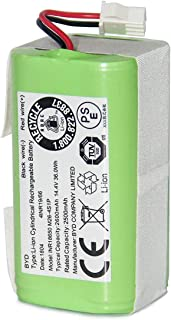 Coredy Replacement 2600 mAh Li-ion Battery for R580-W Robot Vacuum Cleaner