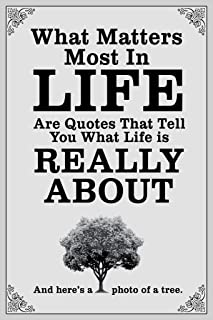 What Matters Most in Life are Quotes White Cool Wall Decor Art Print Poster 12x18