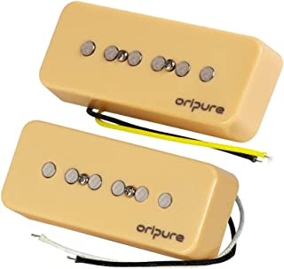 OriPure Soap Bar Pickups Electric Guitar P90 Pickups Set Neck & Bridge Pickup
