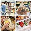 LIVEHITOP Bolsas Reutilizables de Compras Algodón, Bolsa Malla Orgánico Grande Lavable para Fruta, Verdura, Comida, Juguetes (XL,L,M,S, Bolso Mano, Bolso Amacenamiento) #2