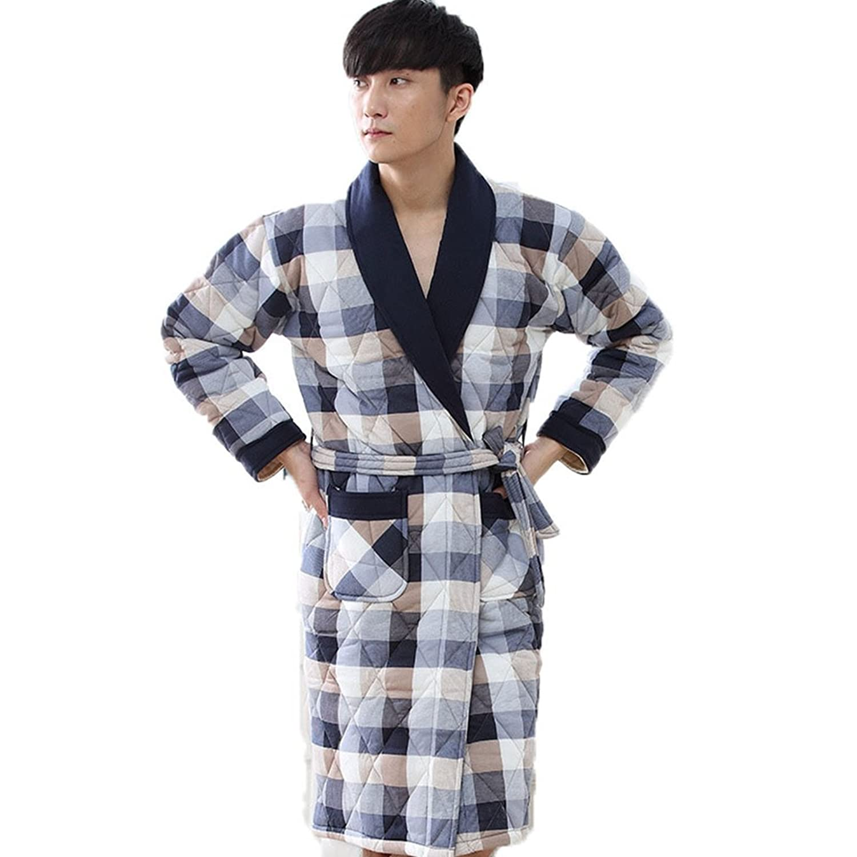 [ファイン?ショップ] ガウン ルームウェア メンズ 男性用 バスローブ パジャマ 冬 あったか 暖かい 防寒 室内着 寝巻き ふわふわ おしゃれ 長袖 前開き お風呂上り カジュアル クリスマス プレゼント L/XL/XXL/XXL