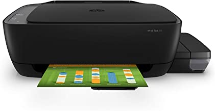HP Ink Tank 310 Colour Printer, Scanner and Copier for Home/Office, High Capacity Tank (4000 Black and 8000 Colour Pages),...