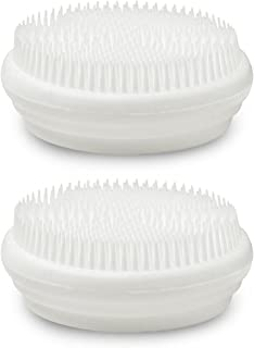 Fancii Sensitive Touch Silicone Brush Replacement Heads (Pack of 2)