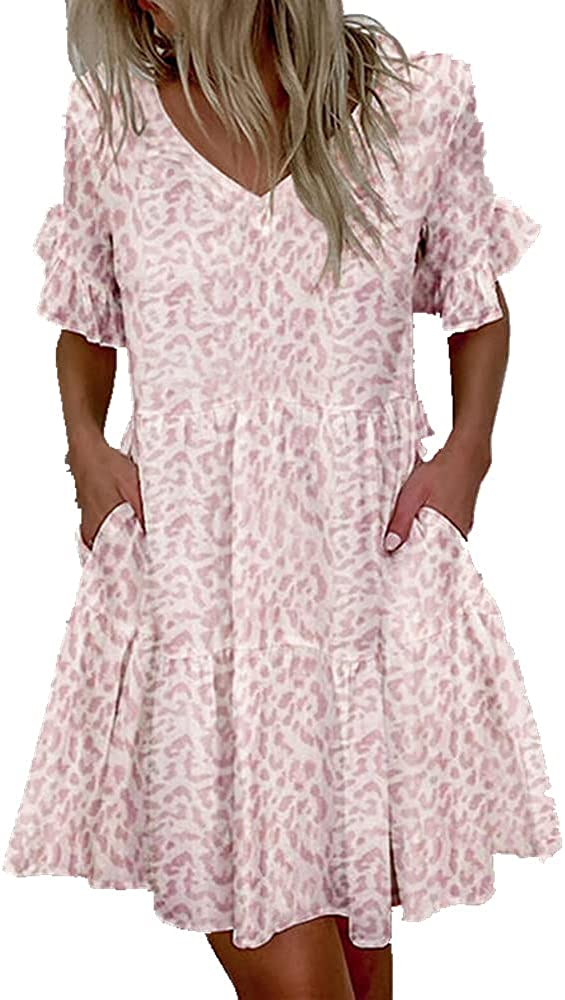 NP Ladies Casual Comfortable Dress Summer Skirt