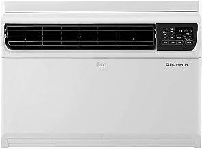 LG 1.5 Ton 5 Star Inverter Wi-Fi Window AC (Copper, 2020 Model, JW-Q18WUZA, White)
