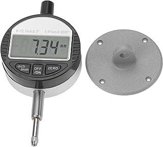 Indicator Gauge, Digital Probe Gauge, 0.01-0.01mm Metal Integrated Structure Aluminium Alloy for Magnetic Gauge Base