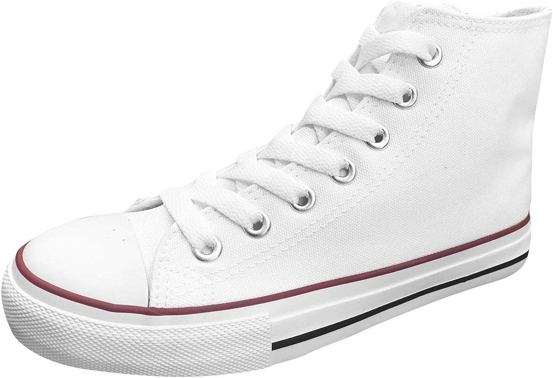 Ish Original Official kvinnor kvinnor kvinnor Blank High Rubber Sole Casual duk Sneeaker skor  köp varumärke