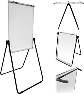 """Thornton's Office Supplies Magnetic Double Sided Height Adjustable Dry Erase Flipchart Easel Board, 39"""" x 27"""""""