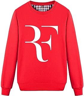 Unisex Tennis Fans Roger RF Novelty Cool Sweatshirt
