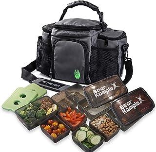 Bolsa de almuerzo aislada para preparación de comidas: