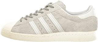 Superstar 80s Mens Trainers Sneakers (UK 10.5 US 11 EU 45 1/3, Cool Grey White S75849)