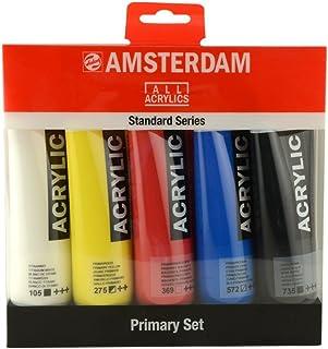 çmsterdam Lot de 5 flacons acrylique 120 ml