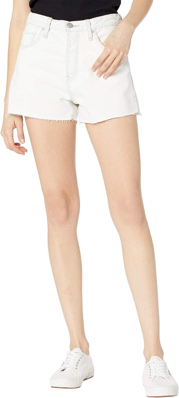 HUDSON Jeans Women's Lori high Rise Cut Off Short, Soft Ecru, 30