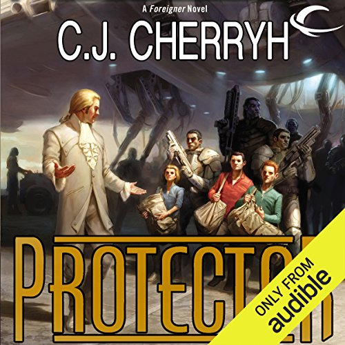 Protector     Foreigner Sequence 5, Book 2              By:                                                                                                                                 C. J. Cherryh                               Narrated by:                                                                                                                                 Daniel Thomas May                      Length: 13 hrs and 35 mins     366 ratings     Overall 4.7