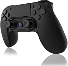 $24 » PUNWEOS Wireless Controller for PS4, Game Controller with Gyro/HD Dual Vibration/Touch Panel/LED Indicator Gamepad Remote ...