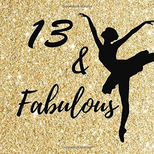 13 & Fabulous: 13th Happy Birthday Party Celebration Keepsake Memory Book For Guest, Family & Friends To Write Best...