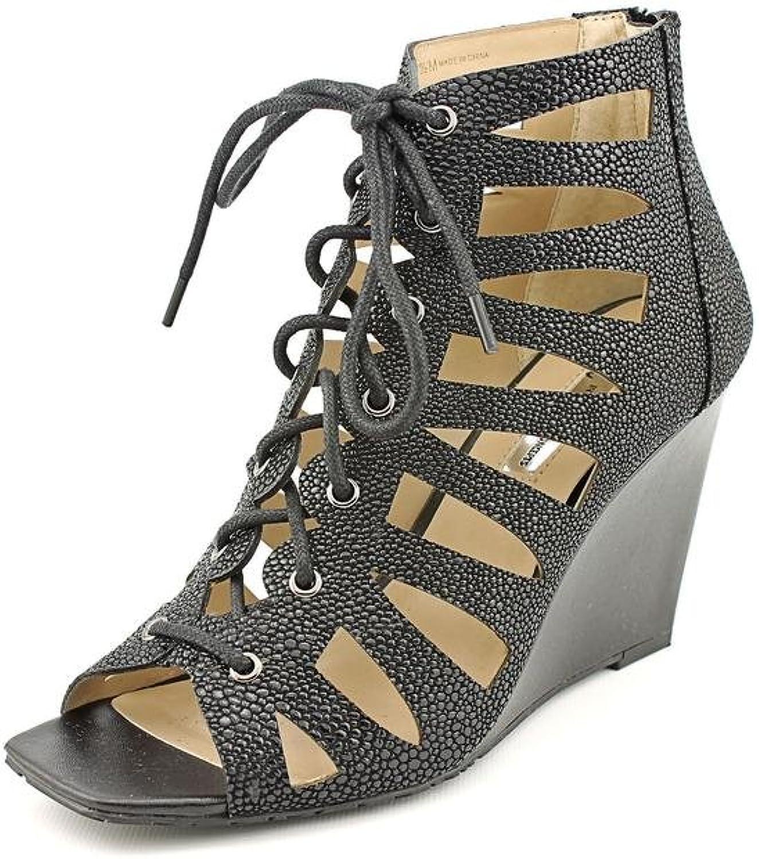 Charter Club INC International Concepts Silviah Women US 10 Black Wedge Heel