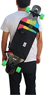 LoveinDIY Skateboard Waterproof Bag Carry Case Shoulder Backpack Skating Accessories