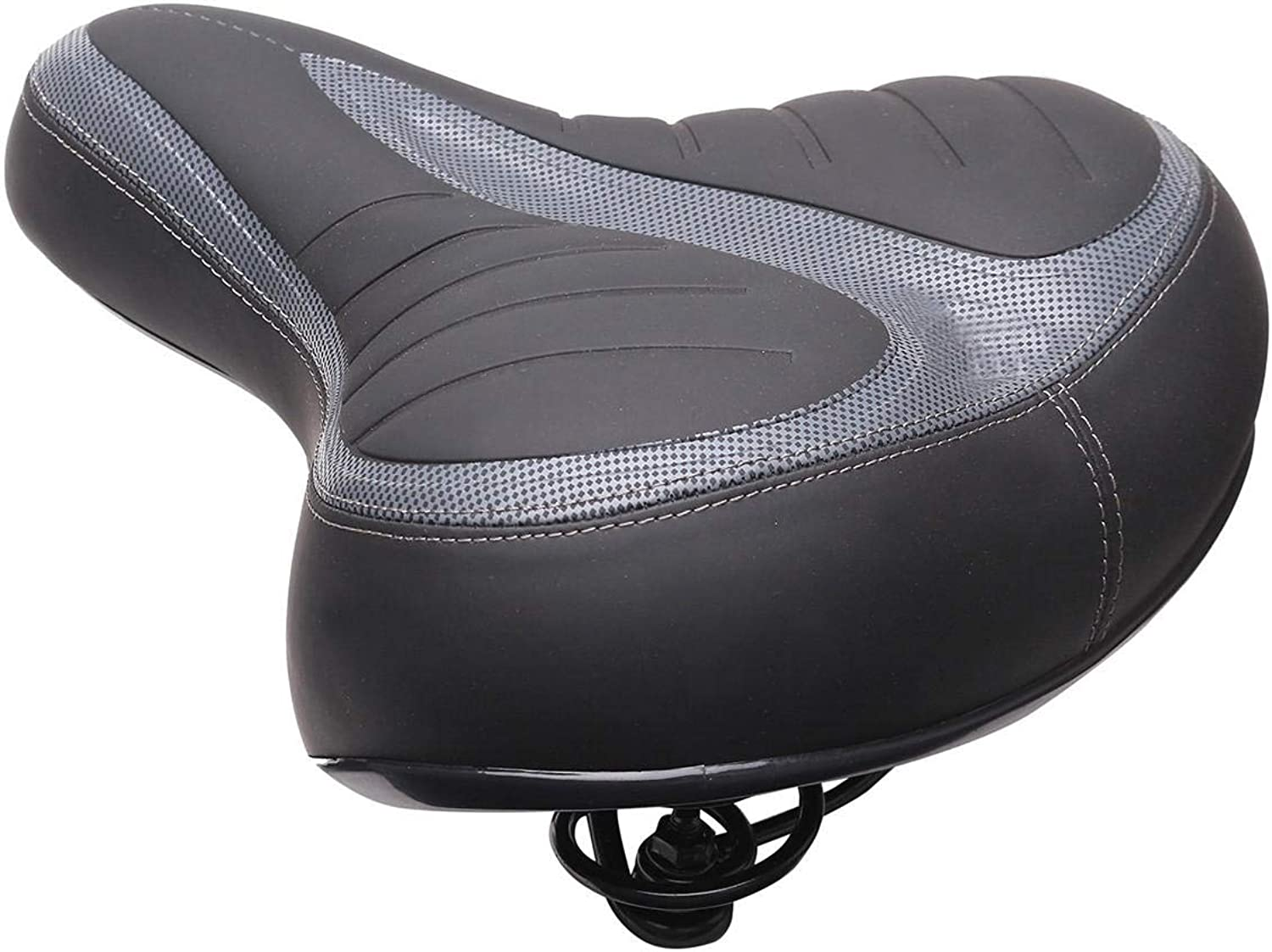New Wide Big Bum Bike Gel Cruiser Extra Comfort Sporty Soft Pad Saddle Seat