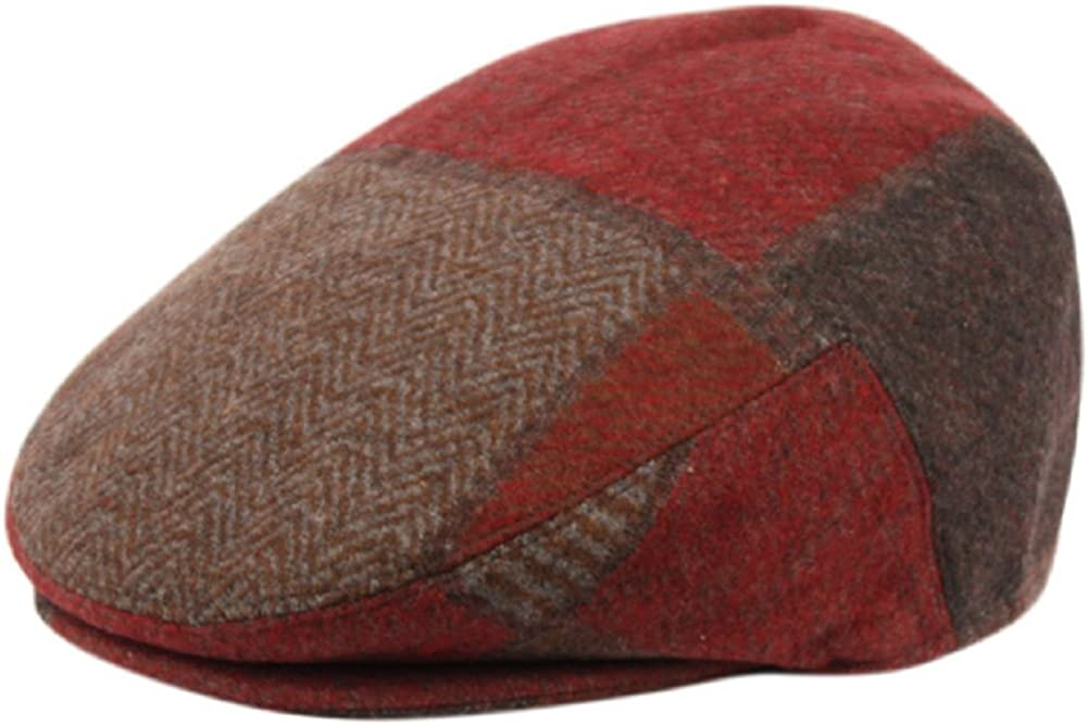 Men's Premium Wool Blend Classic Flat It is very popular Ivy Hat Safety and trust Newsboy Collection