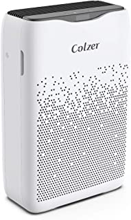 COLZER Air Purifier with True HEPA Air Filter, Air Purifier for Large Room, for Spaces Up to 650 Sq Ft, Perfect for Home/Office with Filter (EPI-186)