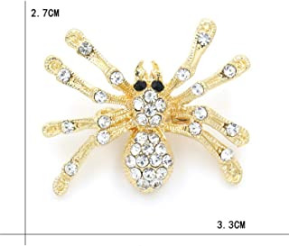 e08192323 Factory Direct Sale Black Or Red Wing Enameled and Crystal Rhinestones  Insect Bee Brooch Lapel Pins