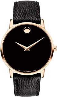 Movado Museum Classic Black Dial Men's Watch 0607196