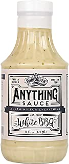 Wide Open Foods Anything Sauce - All Natural Flavorful Cooking For Home & Kitchen Use (White BBQ, 1 Pack)