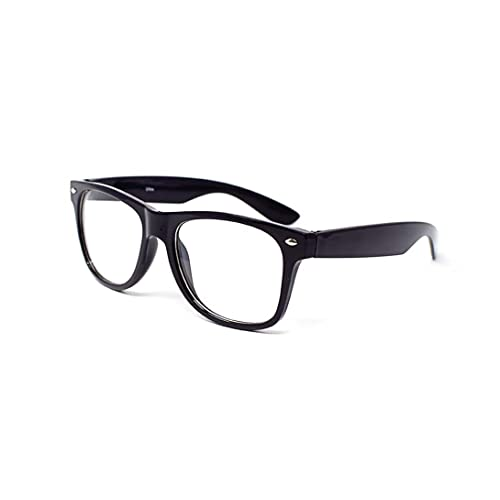 bd2895bd8c Ultra ® Adult Costume Glasses Classic Style Glasses Multi Colour Clear Lens  Classic Frames Perfect for