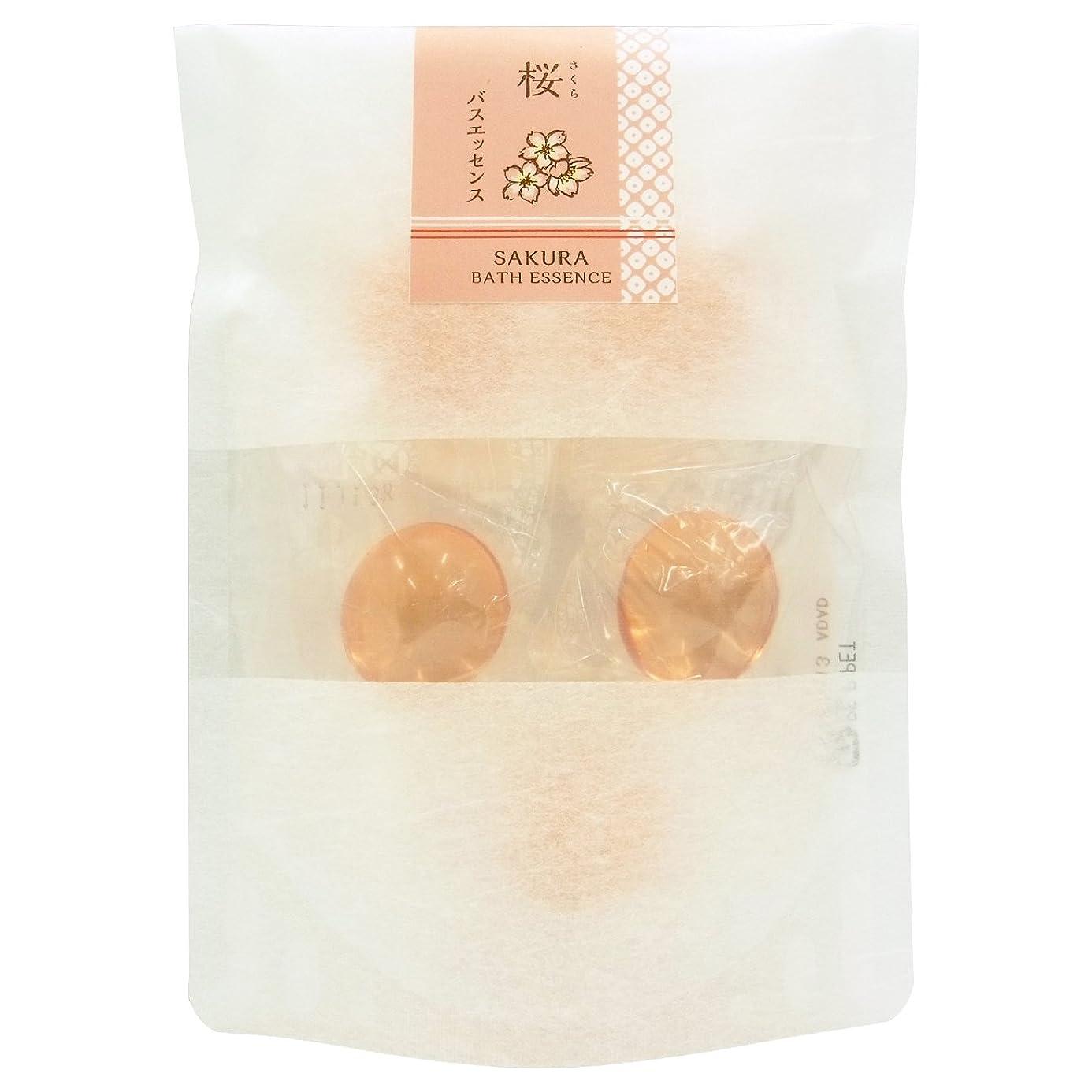 冬高音避ける和の湯 バスエッセンス 桜 (8g × 5個)
