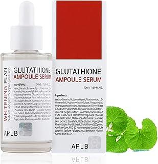 سرم APLB Glutathione Ampoule 1.69 FL.OZ / ضد چروک ، سفید کننده ، روشن کننده ، خاصیت ارتجاعی ، مرطوب کننده ، آبرسانی