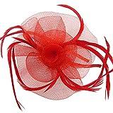<span class='highlight'><span class='highlight'>Discoball</span></span> Elegant Flower Feather Headband Hat Fascinator Wedding Headwear Ladies Day Race Royal Ascot